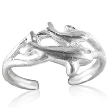 TR-2220 Two Dolphins Toe Ring | Teeda