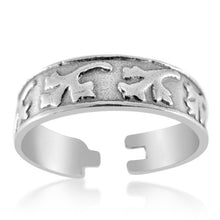 TR-2490 Leaves and Branches Toe Ring | Teeda