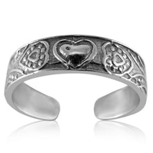 TR-2530 Hearts Toe Ring | Teeda