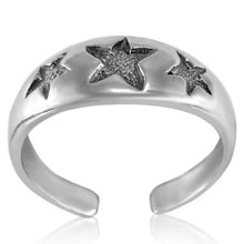 TR-2650 Three Stars Toe Ring | Teeda