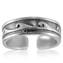 TR-2720 Waves Toe Ring | Teeda