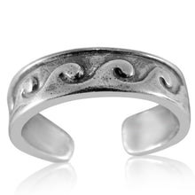 TR-2740 Waves Toe Ring | Teeda