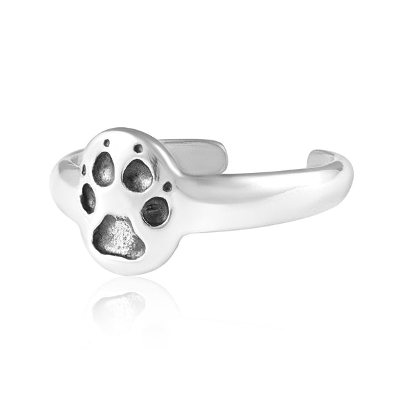 TR-3026 Dog Paw Toe Ring | Teeda