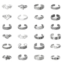 TR-A024 Toe Ring Assortment 24 Pieces | Teeda
