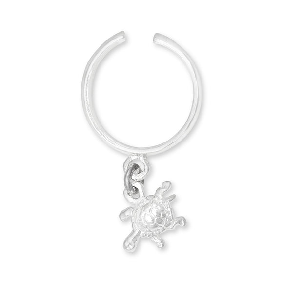 TRC-1070 Turtle Charm Toe Ring | Teeda