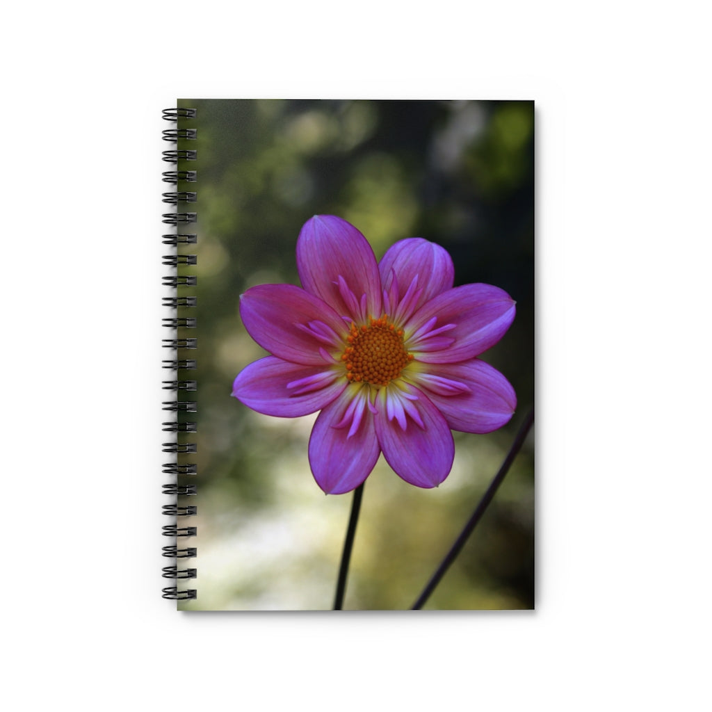FLOWER PORTRAIT 1 LINED NOTEBOOK