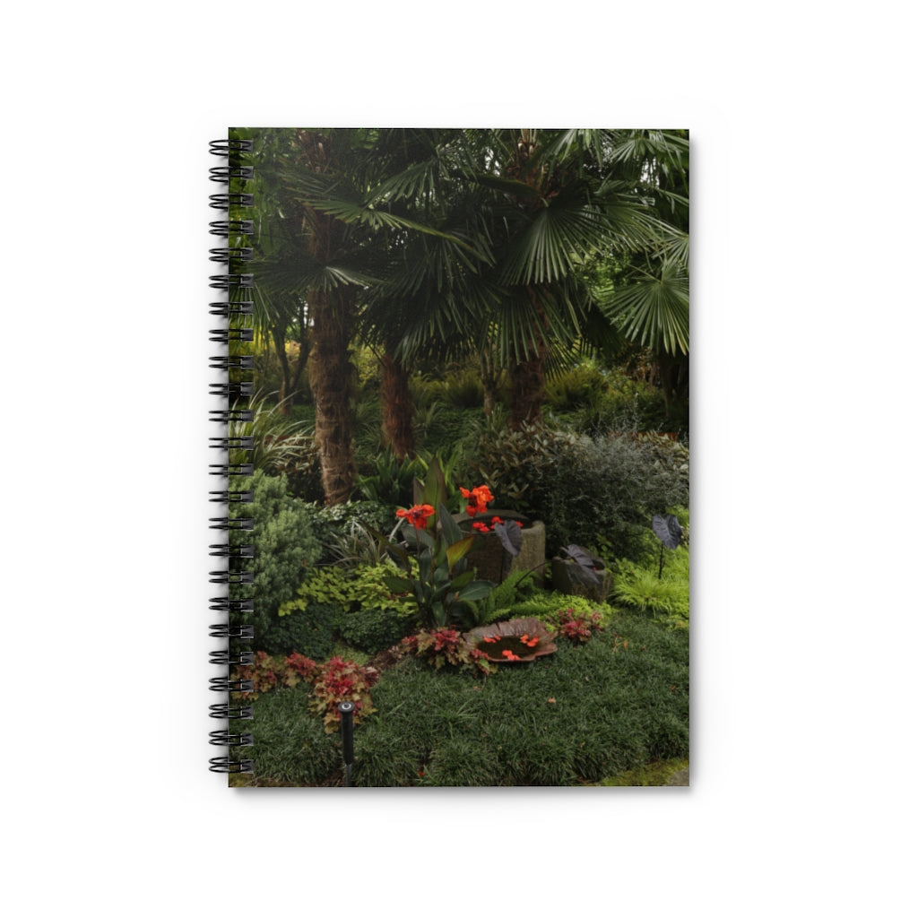 GARDEN LANDSCAPE 1 LINED NOTEBOOK