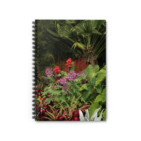 GARDEN LANDSCAPE 2 LINED NOTEBOOK