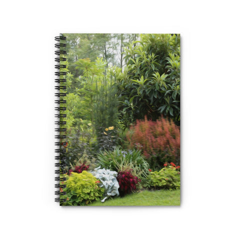 GARDEN LANDSCAPE LINED NOTEBOOK