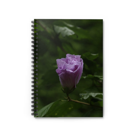 FLOWER PORTRAIT LINED NOTEBOOK