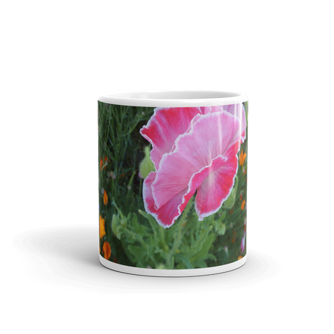 PAINTED POPPY CUP