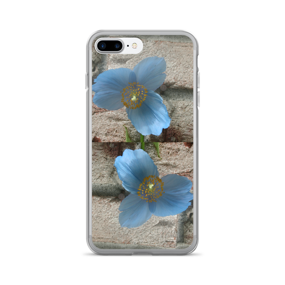 BLUE POPPY CELL PHONE CASE