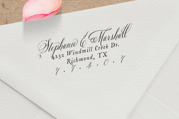 Custom Return Address Stamp