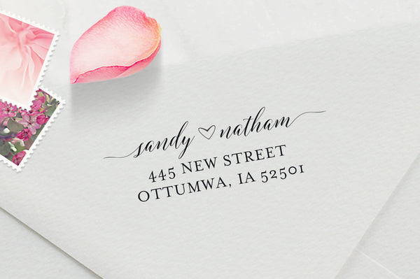 Personalized Stamps For Wedding Invitations: Custom Wedding Invitation Stamp