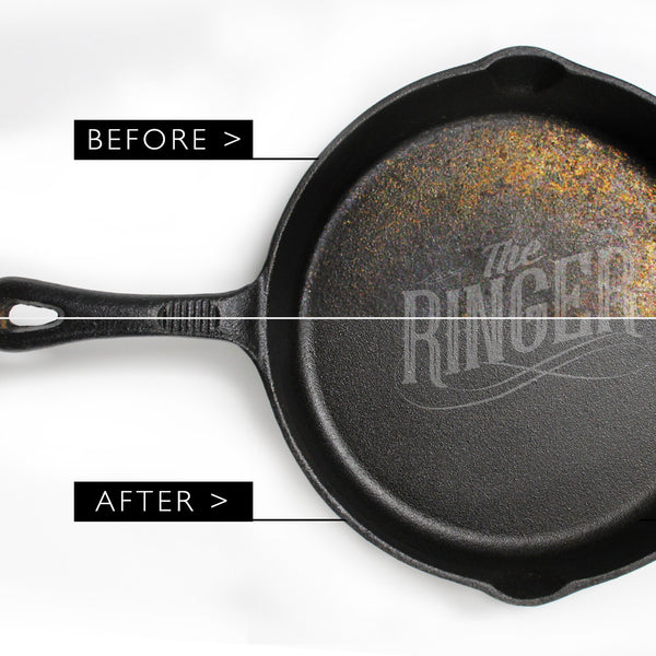 The Ringer Cast Iron Seasoning Oil & Cast Iron Conditioner