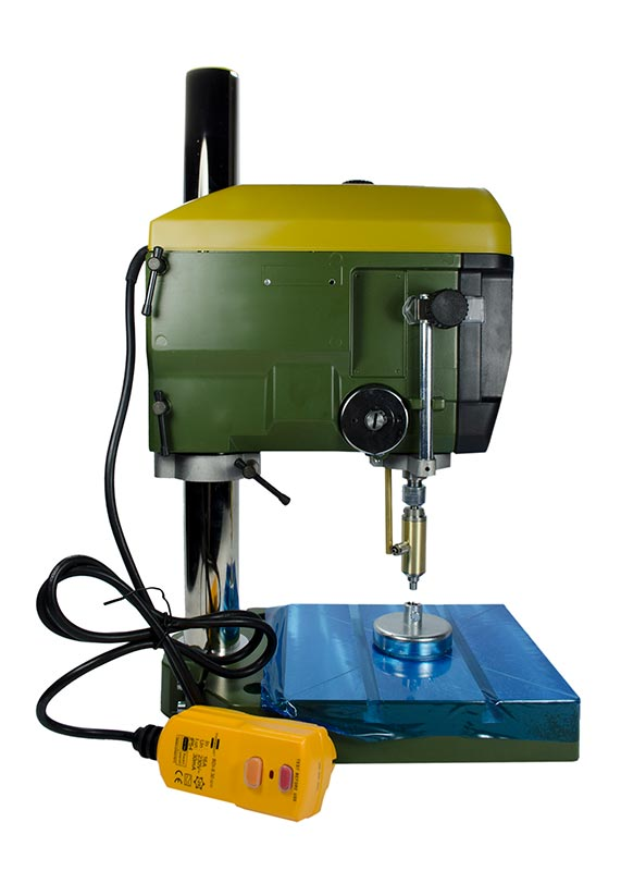 Lapidary Bench Drill Press | The Gunther Hobby Drilling System