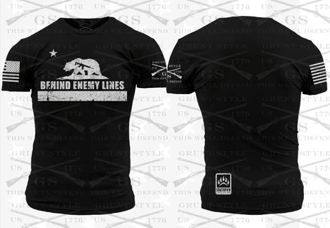 "Southpaw Tactical California ""BEHIND ENEMY LINES"" T-Shirt"