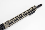MIDWEST INDUSTRIES AR 15 UPPER 14.5 BARREL, PERMANENTLY ATTACHED Spike's Tactical, Dynacomp Extreme Brake