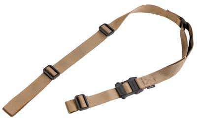 Magpul Industries, MS1 Sling, Fits AR / AK Rifles, Coyote Brown, 1 or 2 Point Sling