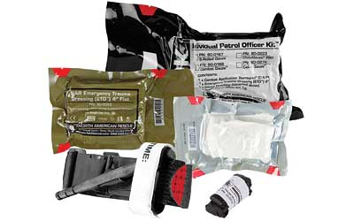 NORTH AMERICAN RESCUE Individual Patrol Officer Kit (IPOK), Medical Kit