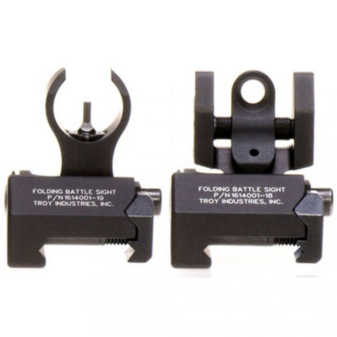 Troy Battlesight Set Micro – HK Front & Standard Rear, Black