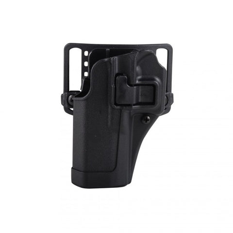 Blackhawk! Left Handed Holster for Glock 43 Concealment CQC Serpa