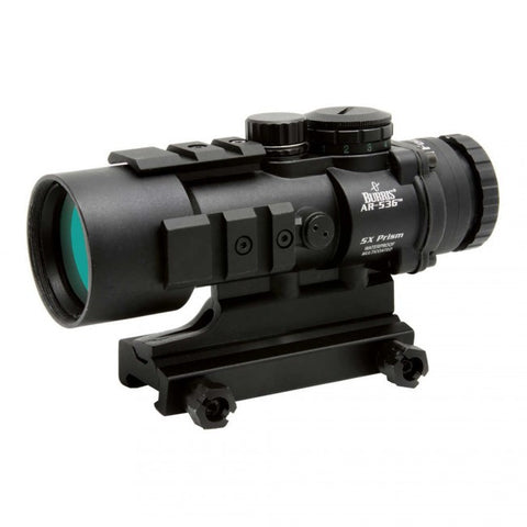 BURRIS AR-536 5X36MM BALLISTIC CQ PRISM SIGHT RIFLESCOPE