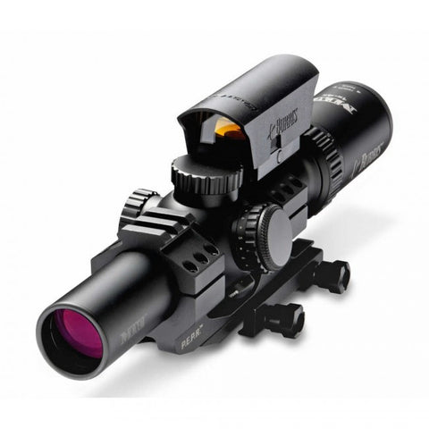 MTAC 1-4x24mm Ballistic CQ 5.56/7.62 Illuminated with PEPR Mount and Fastfire Sight Riflescope