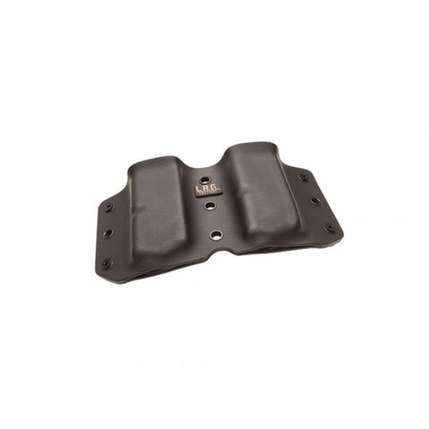 LAG TACTICAL UNIVERSAL SINGLE STACK MAGAZINE CARRIER, 9/40, BLACK