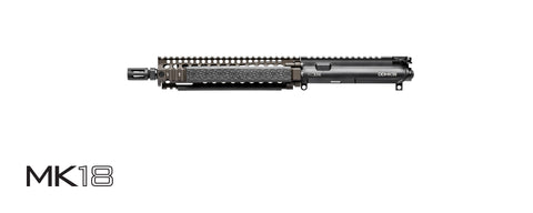 "Daniel Defense complete Upper MK18 URG 556NATO 10.3"" Flat Dark Earth Finish 23-004-08013-011"