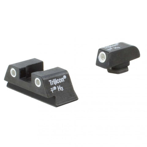 TRIJICON NIGHT SIGHT SET (GREEN FRONT & REAR LAMPS) GLOCK42 / 43