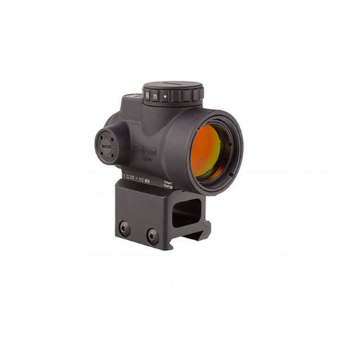 Trijicon MRO- 2.0 MOA Adjustable Red Dot with Lower 1/3 Co-witness Mount, Black