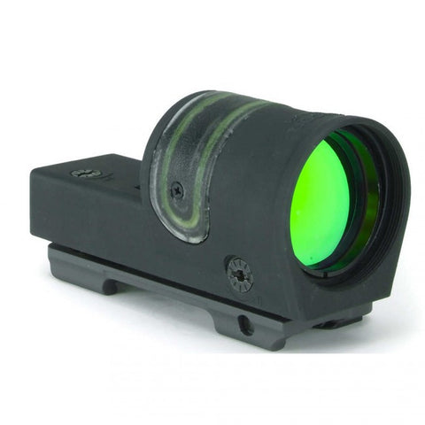TRIJICON 1x42mm Reflex Sight 4.5 MOA Amber Dot - w/ARMS #15 Throw Lever Flattop/Weaver Mount