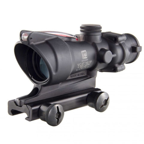 TRIJICON ACOG 4x32 Scope with Red Chevron BAC Flattop Reticle includes Flat Top Adapter