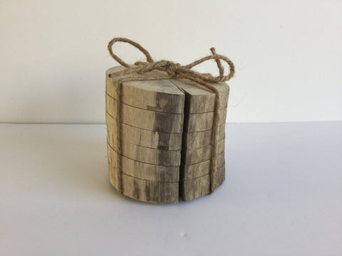 Driftwood Coaster Set 1