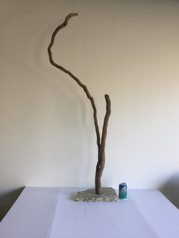 Mounted Driftwood Vine Sculpture - River Valley Woods Company - 9