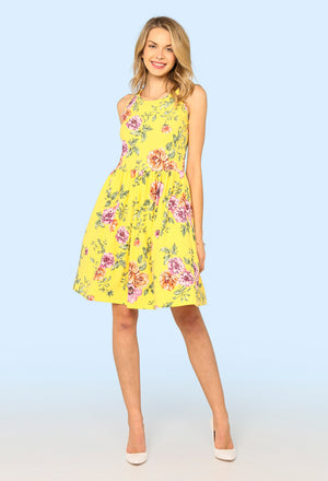 Hana Floral Tea Dress