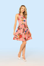 Dafina Floral Tea Dress