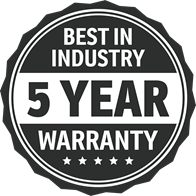 UltraTech 5 Year Warranty