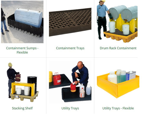 buy ultratech spill containment trays