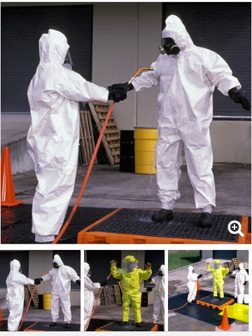 Hazmat Decontamination Tents / Decks by UltraTech