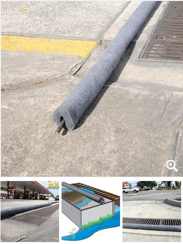 UltraTech Trench Filter Boom for Stormwater management buy online with Thor Spill Containment