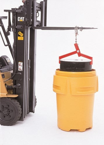 0409 Steel Ultra-Drum Lifter, 1000 lbs Capacity