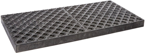 UltraTech 0420 Replacement Polyethylene Grate, 4' Length x 2' Width, Black, For Ultra-Containment Trays