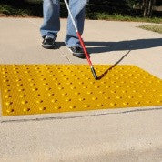 ADA Warning Pad, Raised Truncated Dome Design, Available in 4 Sizes and Colors