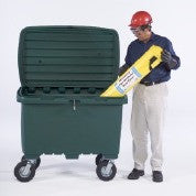 "0863 Utility Box with 5"" Solid Rubber Wheels, 350 lbs Capacity"