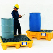 Ultratech 1001 Ultra-Spill Pallet P4 With Drain