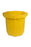 1043 Flat Bottom Ultra-Spill Collector with Drain, 66 Gallon Capacity, 5 Year Warranty, Yellow
