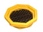 1046 Ultra-Drum Tray with Grate, 21.1 Gallon Capacity, 5 Year Warranty, Yellow