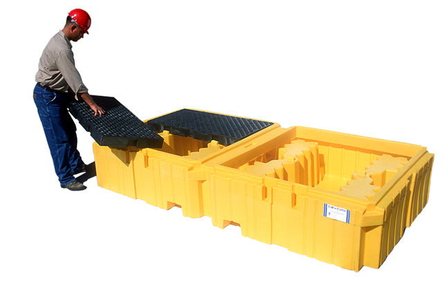 1140 Ultra Twin IBC Spill Pallet without drain